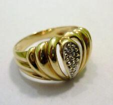 Echtschmuck-Ringe mit Diamant Brillantschliff