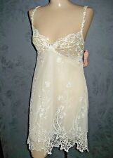 Claire Pettibone Bridal Nightgown Melody Chemise Heirloom Luxury Lingerie M NWT