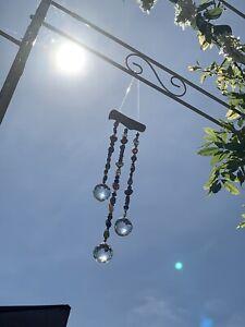 Crystal Sun Catchers Home Garden Patio Window Balcony Decor Ethnic Beads Glass
