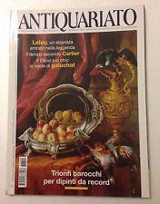 Antiquariato n. 309 anno 2007 - Trionfi barocchi per dipinti da record