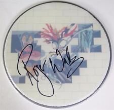 "Roger Waters PINK FLOYD Signed Autograph ""The Wall"" 12"" Drum Head FA LOA"