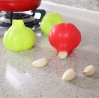 Silicone Garlic Clove Peeler Skin Remover Dishwasher Safe Easy Useful Kitchen