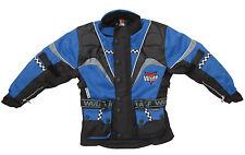 Adult alpina motocross motorbike road rally trail blue jacket coat