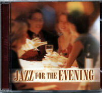 Jazz for the Evening MUSIC CD,CLASSICAL,Instrumental, Dinner Music JAZZ, NEW