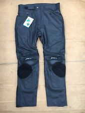 "FIGO Mens Race Leather Motorbike Motorcycle Trousers Size UK 37-38"" Waist (LBH)"