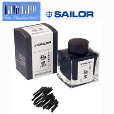 Sailor Fountain Pen [極黒 Kiwaguro] Ink Square Bottle Pigment Ink 13-2002-220