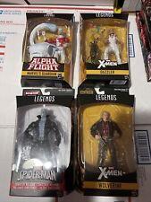 Marvel Legends Lot: Dazzler Wolverine Tombstone Guardian Action Figure BAFs NIB