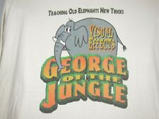 Dream Quest Images George of The Jungle Visual Effects Crew Elephant T Shirt XL