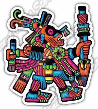 """Maya Civilization Mayan Art Aztec Itza Car Bumper Vinyl Sticker Decal 4""""X5"""""""