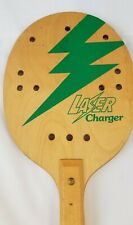 Laser Charger Wood Paddleball Paddle Pickleball Racket Racquet