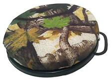 CAMO PADDED LID FOR BUCKET SEAT CHAIR PIGEON SHOOTING HUNTING DRUM TOP HIDE
