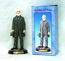 GENERAL ROBERT E. LEE STANDING FIGURE WOODEN BASE WITH BRASS PLAQUE
