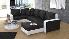 Couchgarnitur Ecksofa Couch Polster Sofa PALIO U Wohnlandschaft Schlaffunktion