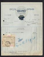 """PARIS (XVIII° Arr) PETITS MOTEURS & APPAREILS ELECTRIQUES """"LILLIPUT"""" en 1927"""