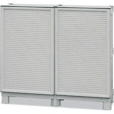 ARMADIO MOBILE BOX RESINA 100% PER ESTERNO CERNIERE METALLO L.100 P.39 H.92 cm