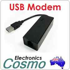 USB External Dial Up Voice Fax Data Modem 56K V92 V90