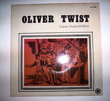 DISQUE 45T ALORS, RACONTE // OLIVER TWIST D'APRES CHARLES DICKENS