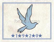 """MASCOT Series - Zeta Phi Beta Print - """"Dove - 1920 - 5 Stars"""""""