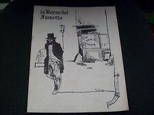 """LA BORSA DEL FUMETTO N.1 - GENNAIO 1979 - BUONO """"N"""""""