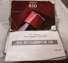 **LOOK** 1994 Volvo 850 Owners Manual Set With Case 94