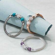 Kasandra Semi-Precious Stretch Bracelet BNIP