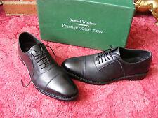 Men's Samuel Windsor Prestige Oxford Black Leather Lace Up Shoes UK 10 EU 44.5