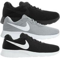 Nike Tanjun Premium SE Herren Schuhe schwarz grau weiß Sport Fashion Sneakers