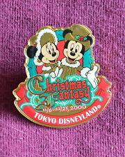 Tokyo Disneyland A Christmas Fantasy 2000 Mickey & Minnie Pin - Disney Pins