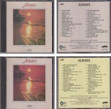 ALWAYS Various Artists 1990 Heartland Music 2 CD Set Atlantic Starr Elton John