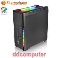 Thermaltake Versa C21 RGB ATX Mid-Tower Gaming Computer PC Case No PSU