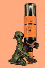 Hand Made Kitchen Halloween Wine Bottle Holder Drunk Skull Bar Decoration