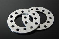 (2) CNC 3mm Wheel Spacers Adapters Fits 5 Lug Lexus ES IS300 IS250 SC300/400 LS