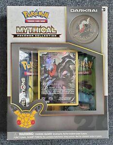 NEW Pokemon Generations Mythical Collection Box - Darkrai - 20th Anniversary Set