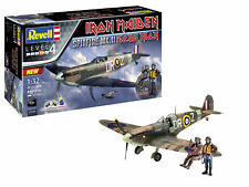 "Revell 1/32 Iron Maiden ""Aces High"" Spitfire Mk.II Gift Set # 05688"