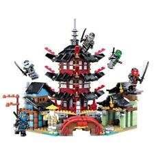Ninja Temple Of Airjitzu Ninjagoes Blocks Set (Lego Compliant)