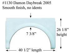 Damon RV Fender Skirt  FIBERGLASS  #1130 Polar White