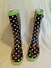 Rainboots Polka Dot Western Chief Rubber Shoes for Women | eBay