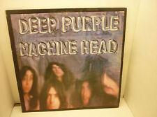 Deep Purple Machine Head LP BS2607 1972 VINYL w/INSERT GATEFOLD WARNER BROS VG