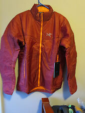 Mens New Arcteryx Nuclei SL Jacket Size Small Color Iron Oxide