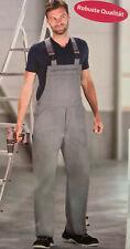 Arbeitshose Latzhose Hose Berufskleidung grau Größe 48-50
