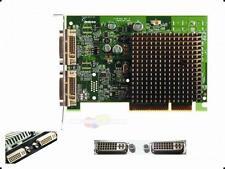 Matrox Millenium 64MB AGP Grafikkarte P650 2x DVI Passiv Kühlung P65-MDDA8X64F