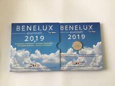 Bénélux Coffret de 24 pièces 2019 Les Aéroports Du Bénélux