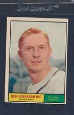 1961 Topps #505 Red Schoendienst Cardinals EX 61T505-21316-9