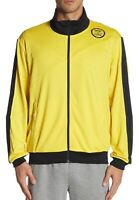 ASICS Men's DOJO Track Gym Running Jacket Clothes 2033A014 Yellow/Black Size M