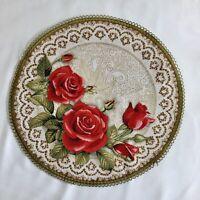Tischläufer Tischdecke Gobelin Gobelindecke Pracht der Rosen in zwei Großen