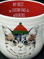 "Belle Maison Grumpy Cat with Hat Mug ""Best Friend has Whiskers"""