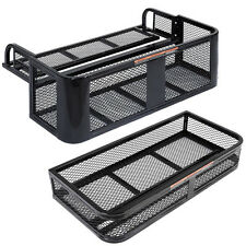 New ATV UTV Universal Front Rear Set Drop Basket Rack Steel Cargo Hunting