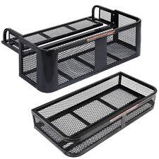 New ATV UTV Universal Front Rear Set Drop Basket Rack Steel Cargo Hunting