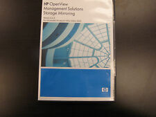 HP Software Version 4.4.2 OpenView Management Solutions Storage Mirroring
