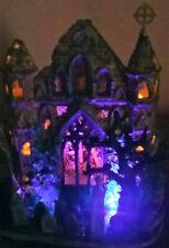 MINT RETIRED Lemax Spookytown Gothic Ruins #65342, Halloween Village